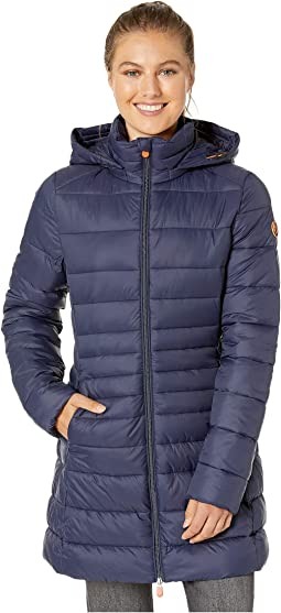 Giga 9 Puffer Coat with Removable Hoodie