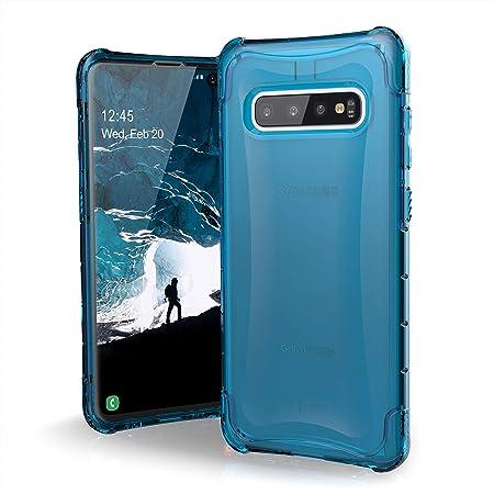 Urban Armor Gear Plyo Hülle Für Samsung Galaxy S10 S10 Plus Nach Us Militärstandard Qi Kompatibel Sturzfest Verstärkte Ecken Transparent Ice Elektronik