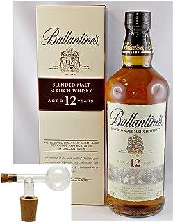 Ballantines 12 Jahre Blended Malt Whisky  1 Glaskugelportionierer