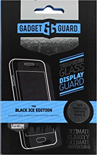 Gadget Guard Ice Edition Glass Screen Protector for Samsung Galaxy Note 4 - Black