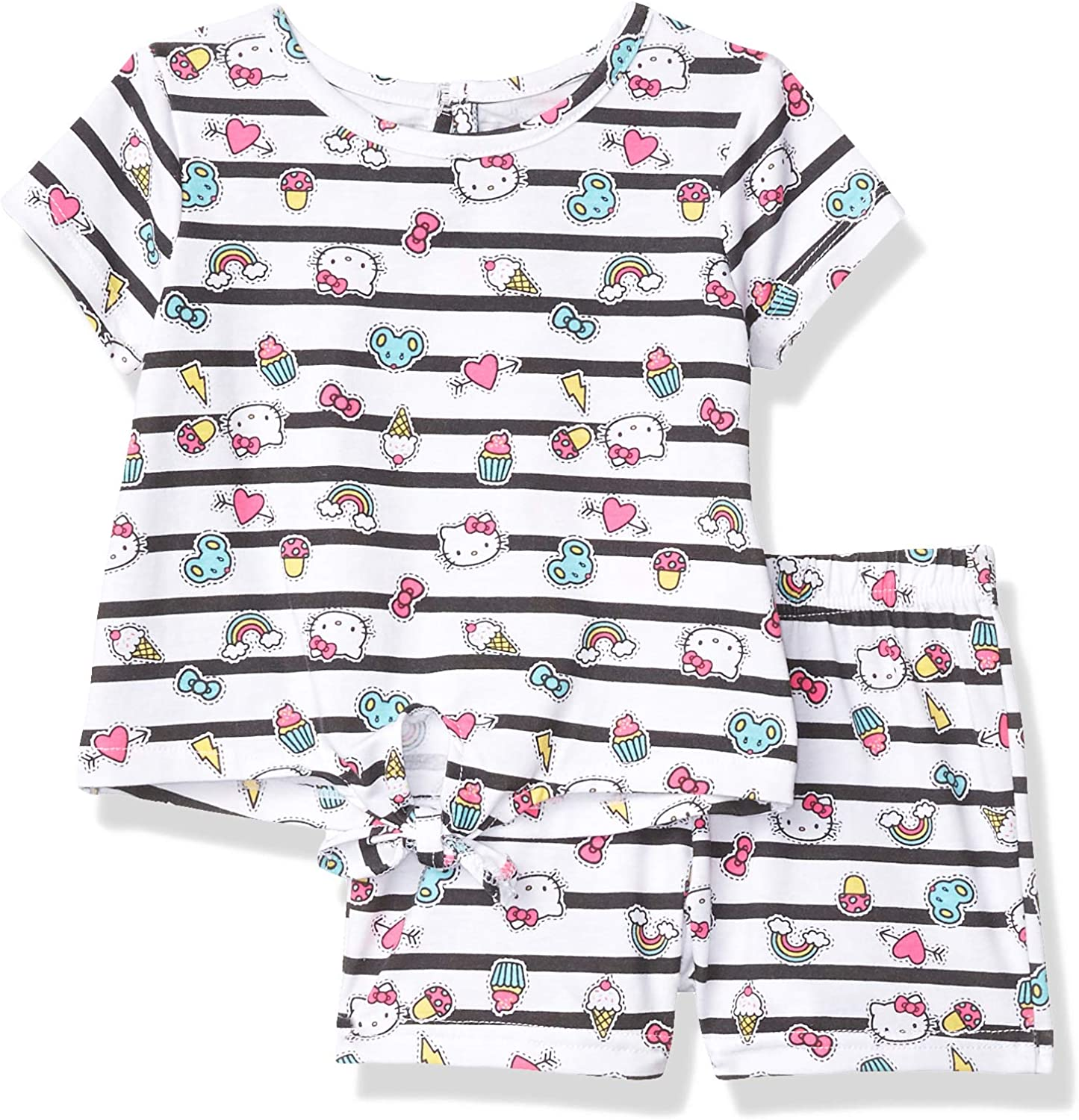 Hello Kitty At the Raleigh Mall price girls Set Sleeve Short