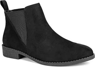MaxMuxun Mujer Zapatos Low Block Chelsea Botines