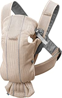 BABYBJÖRN Carrier Mini 3D Mesh - Pearly Pink