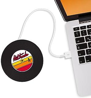 Mustard M11015 Chauffe Tasse USB Souse-Verre – Noir Hot Tracks