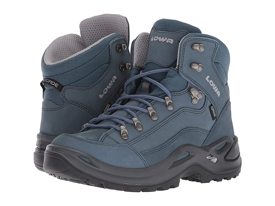 Lowa Renegade GTX(r) Mid (Gray/Blue) Women