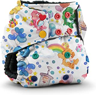 Care Bears x Kanga Care Rumparooz OBV One Size Cloth Pocket Diaper - Care Bears Birthday (6-35lbs)