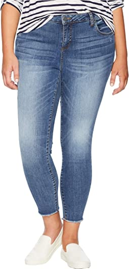 Plus Size Connie Ankle Skinny Jeans in Guileless