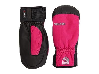 Hestra Ferox Primaloft Mitt (Toddler) (Fuchsia) Ski Gloves