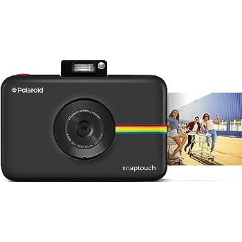 Zink Polaroid Snap Touch 2.0-13MP Cámara fotográfica Digital de impresión instantánea portátil con Pantalla táctil incorporada, Negro