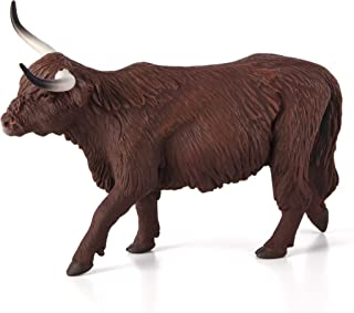 highland cow figurine