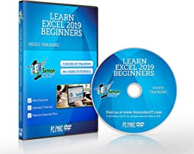 Excel 2019 Training Course by Simon Sez IT: Excel DVD Course For Absolute Beginners – Excel Video Tutorials Including Exercise Files