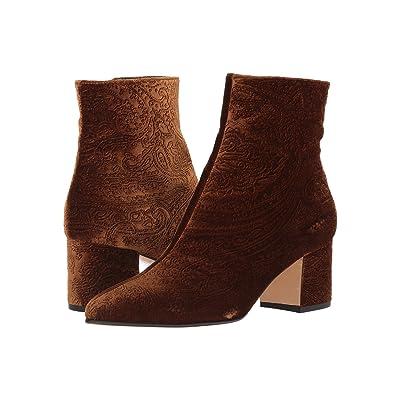 Etro Velvet Boot (Brown) Women