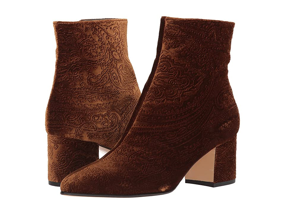 Etro Velvet Boot (Brown) Women
