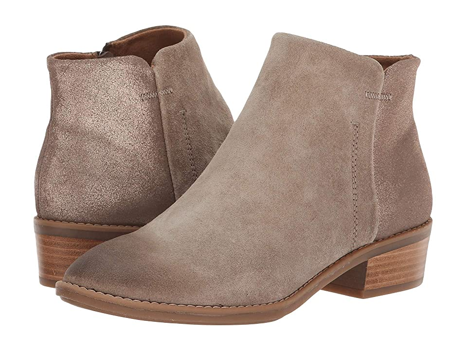 Comfortiva Carrie (Light Grey Oiled Cow Suede/Bronze Cometa Metallic) Women