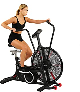 Sunny Health & Fitness Exercise Tornado Fan Air Bike - SF-B2729