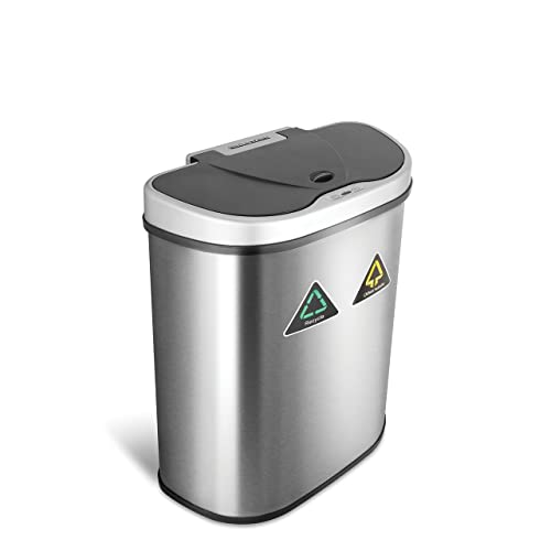 Ninestars Dzt 70 11r Automatic Touchless Infrared Motion Sensor Trash Can Recycler