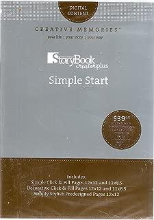 Creative Memories Storybook CreatorPlus Simple Start