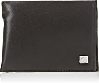 Trussardi Jeans Wallet Credit Card Coin Pocket, Portafoglio Uomo, Nero, 13x10x2 cm (W x H x L)