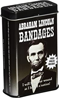 Archie McPhee Accoutrements Abraham Lincoln Bandages