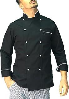 Casacca Chef per Ristorante e Cucina tessile astorino Ricamo Gratuito Giacca Cuoco Donna Bianca e Verde Made in Italy