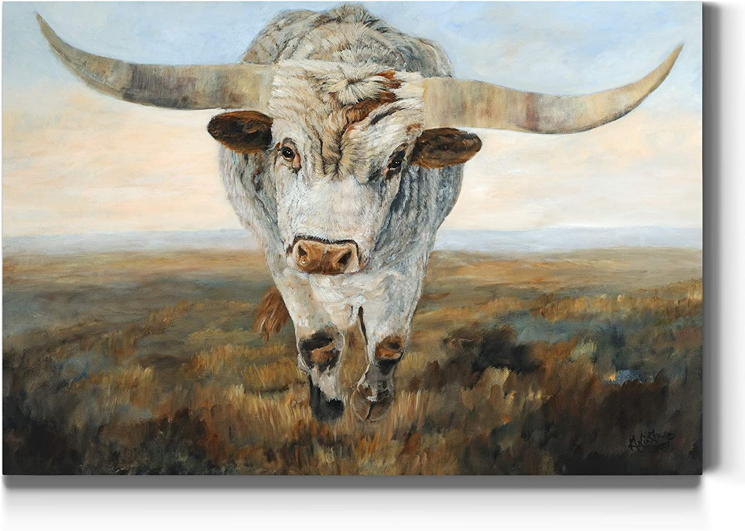 Factory outlet Renditions Gallery Ramblin' On 1 Wall 5 ☆ very popular Bro White Art Western