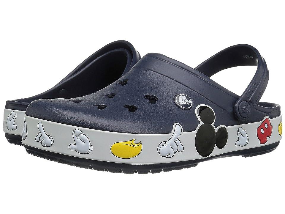 Crocs Crocband Mickey Clog (Multi) Clog Shoes