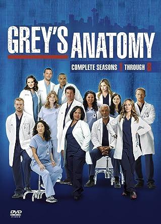 Amazon.com: Greys Anatomy 1-8 [Import anglais] : Movies & TV