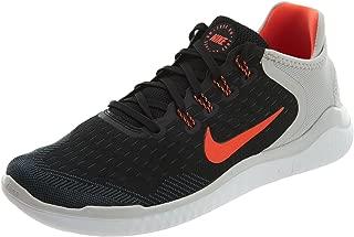 Nike Men's Free RN 2018 Black/Total Crimson-Vast Grey-White Running Shoes (10 D(M) US)