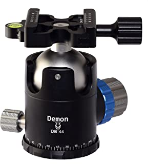 Desmond Demon DB-44 44mm Tripod Ball Head Arca/RRS Compatible w Pan Lock & DAC-X1 Clamp