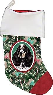 Best of Breed Cocker Spaniel Black/White Dog Breed Christmas Stocking
