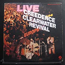Creedence Clearwater Revival - Live In Europe - Lp Vinyl Record