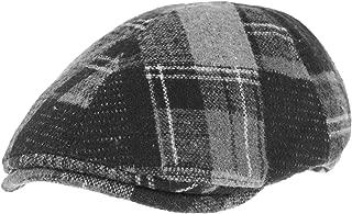 WITHMOONS Mens Winter Flat Cap Tartan Check Wool Knit Ivy Hat SL3435