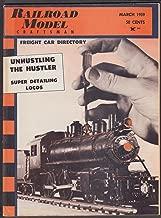 RAILROAD MODEL CRAFTSMAN Freight Car Directory Chicago & Northwestern ++ 3 1959