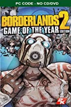 Borderlands 2 Game of the Year Steam PC Code (No CD/DVD)