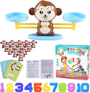 Funmo Monkey Balance Maths Game, Apenbalans Educatief, Cool Math Toys, Wiskundig Telspel, Digitale Toevoeging Tellen Teach...