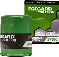 ECOGARD S4610 Spin-On Engine Oil Filter for Synthetic Oil - Premium Replacement Fits Honda Accord, Civic, CR-V, Odyssey, Pilot, Fit, Element, Ridgeline, HR-V, Insight, Crosstour, Accord Crosstour