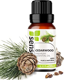 Sponsored Ad - Cedarwood Essential Oil - Made in India - 100% Pure Extract Cedarwood Oil Therapeutic Grade (0.33 Fl Oz / 1...