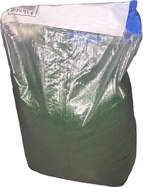 Green Silica Sand Infill With Microban For Artificial Synthetic Turf Grass 50 Lb
