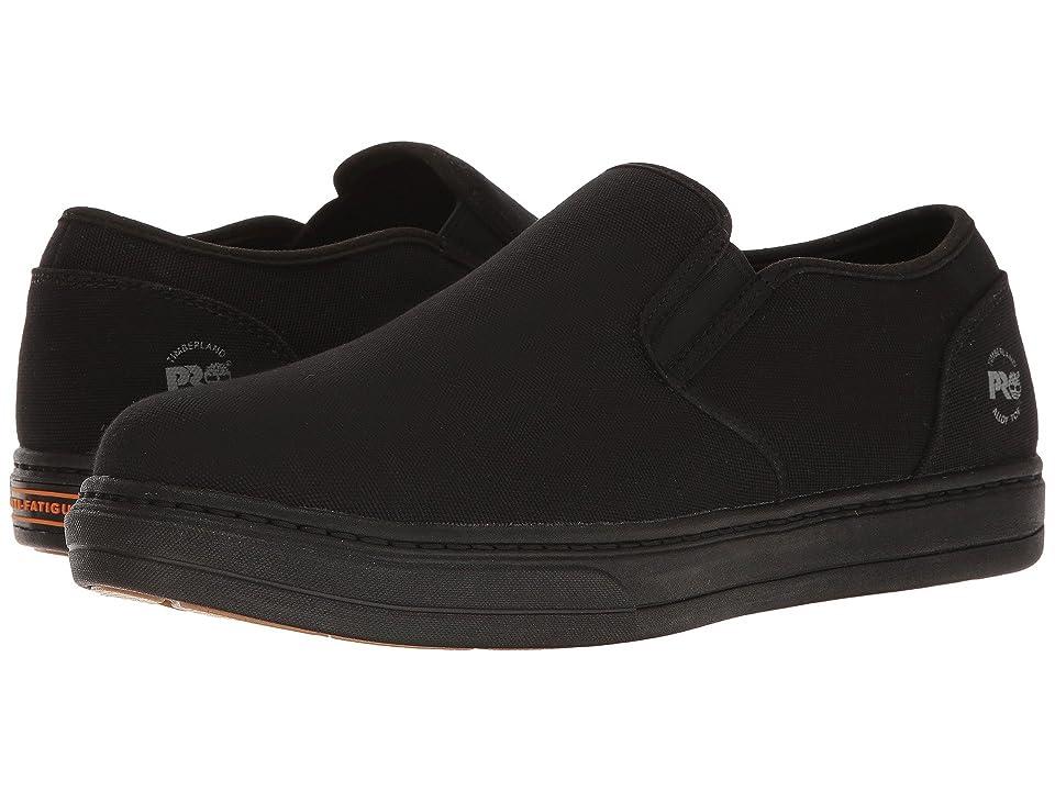Timberland PRO Disruptor Alloy Safety Toe EH Slip-On (Black/Black Canvas) Men