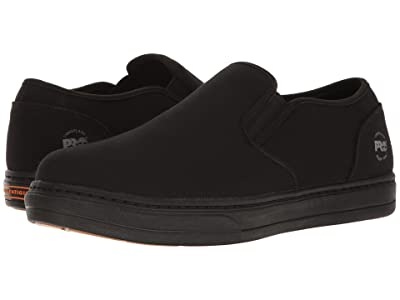 Timberland PRO Disruptor Alloy Safety Toe EH Slip-On (Black/Black Canvas) Men