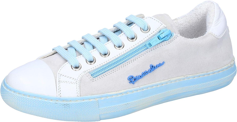 Braccialini Fashion-Sneakers Womens Suede White