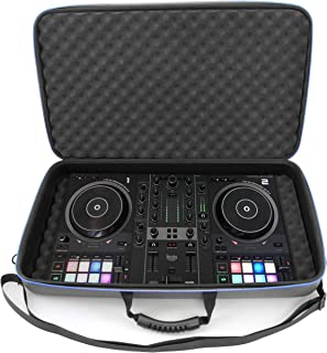 $59 » CASEMATIX DJ Controller Travel Case Compatible with Hercules Inpulse 500 - Hard Shell DJ Mixer Carrying Case with Shoulder...
