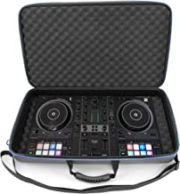 CASEMATIX DJ Controller Travel Case Compatible with Hercules Inpulse 500 - Hard Shell DJ Mixer Carrying Case with Shoulder...