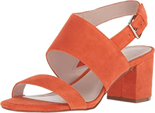 b9c6aa1be5ae6 Amazon.com: Orange - Heeled Sandals / Sandals: Clothing, Shoes & Jewelry