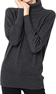 Cashmere Sweater Women Winter Turtleneck Thick Loose Oversize Pullover Female Knitted Jumpers