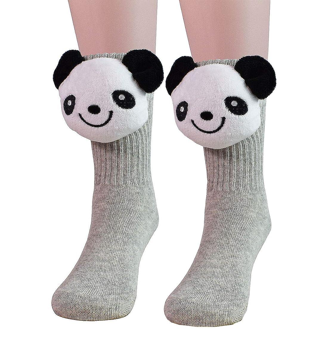 JIEEN Baby Boy Girl Socks Pile Heap Socks Cartoon Tube Socks Warm Leggings