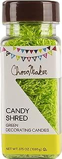 ChocoMaker 9151CMC R Candy Shred .375oz, Green