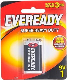 Eveready Super Heavy Duty 1222BP-1 9V, 1ct