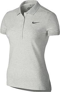 1679aa420 Nike Golf Women s Precision Pique Polo (Light University Red Heather White)