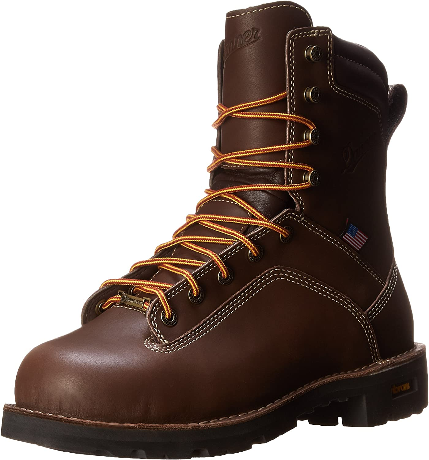Danner Men's Quarry USA 8-Inch BR AT Work Boot